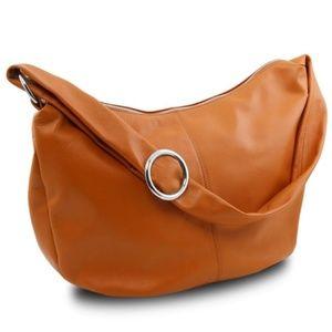 Wentworth Tuscany Leather Hobo Bag